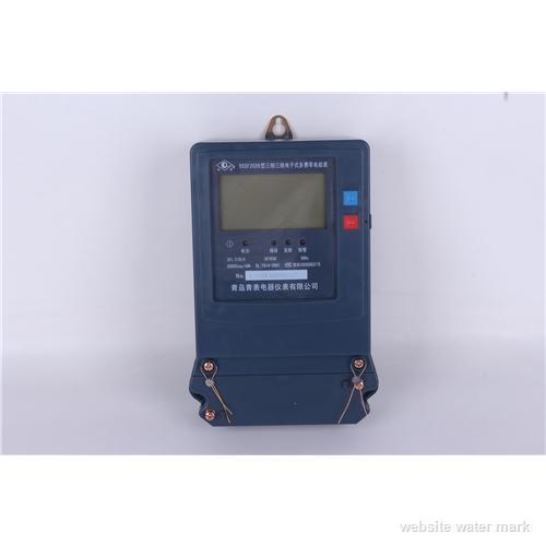 三相三线峰谷平电能表   三相高压分时电表