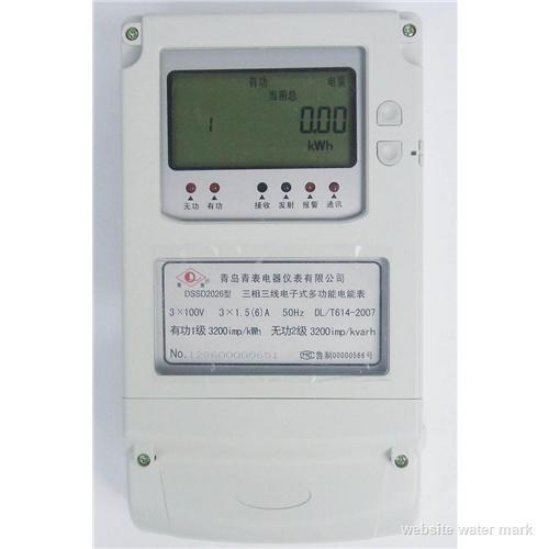 三相三线多功能电能表,100V DSSD多功能电表