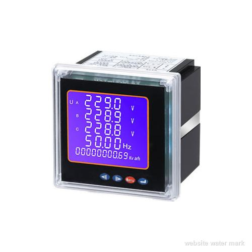 三相四线多功能电力仪表DTSD2026-M(崁入式安装)
